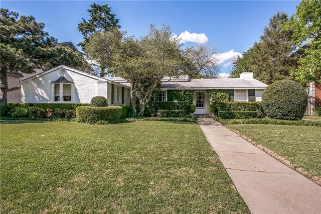 Residential for Sale at 3928 Bryn Mawr Drive 3928 Bryn Mawr Drive University Park, Texas 75225 United States